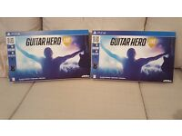 Two *Brand New* Guitar Hero Live Consoles. Never opened.