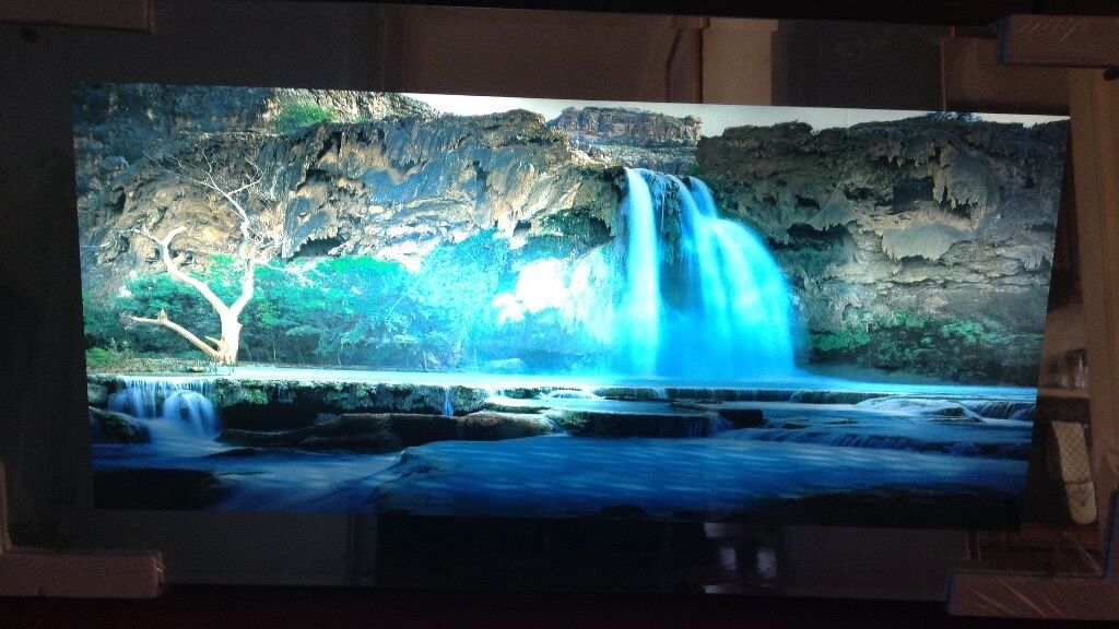 Light Up Moving Waterfall Picture With Sound Effects In Corstorphine