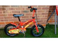 Fireman Sam 14 inch wheel Boys bike £35.00