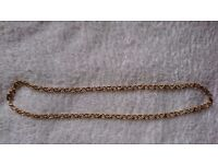 Monet Gold Plated Necklace