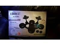 Electronic Drum Kit with Midi.