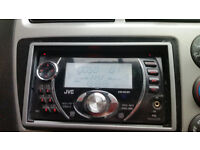jvc double din mp3 wma aux usb radio cd player