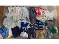 Baby boy bundle 0-6