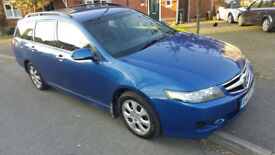 Honda Accord Sport I-CTDI Tourer, 2007, 115k, Mot, FSH, 2 Keys, Prt Leather, Navi & Alloys £2995