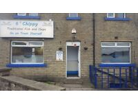 Fish and chips shop for sale or rent