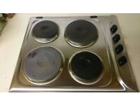 electric hob in good condition