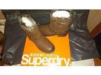 Superdry ladies boots
