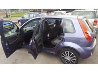 FORD FIESTA AUTOMATIC ONLY 44K MILEAGE GOOD CONDITION PERFECT RUNNER WARRANTY IS AVAILABLE