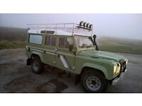 Landrover 110 County for sale/swap (bike or van)