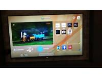 """Hitachi 50"""" Smart LED 1080p Full HD Built-in Wi-Fi Delivery"""