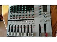 Mixing desk