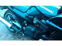 kawasaki gpz1100 excellent sports touring bike rack and full luggage