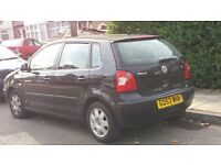 VW Polo 1.2CC 4 dr 2004 model Black Good running condition Price negotiable