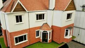 Hand made dolls house
