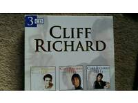 Cliff 3 cd set 60s, 70s +80s