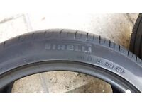 2 USED TYRES
