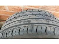 225 45 17 Windforce Tyre 6-7 mm