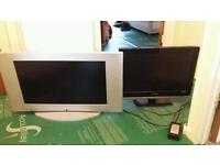 LCD TV X 2 FOR SALE