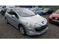 Peugeot 308 1.6 VTi SE 5dr, PANAROMIC SUNROOF, HPI CLEAR, 2 KEYS, FULL SERVICE HISTORY, LONG MOT