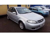 REDUCED 2006 CHEVROLET LACETTI 1.6 50K MILES! 12 MONTH MOT PX WELCOME