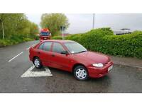 Hyundai accent 1.3cc 5 door with october mot and full service history