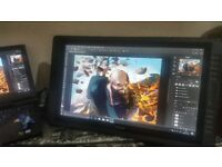 Huion GT 221 drawing monitor 3 week old from new