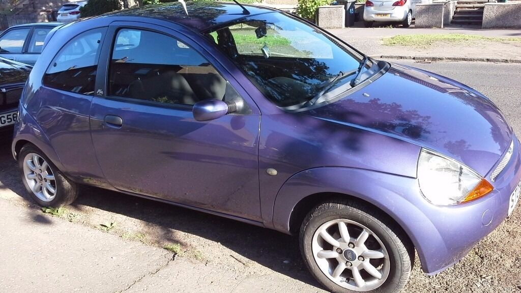 Ford Ka Zetec Climate Purple  Plate Mot Until May  Miles