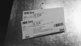 The Cribs tickets x2 - London ULU - Standing - Friday 15 December - looking to SWAP for Thurs 14 Dec