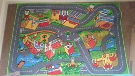 Kids car mat