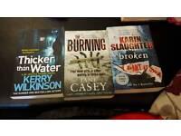 3 Fiction Books