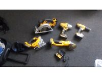 Dewalt tools job lot 300