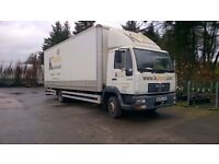 2003 MAN, 7.5 tonne, lorry, van, with tail lift