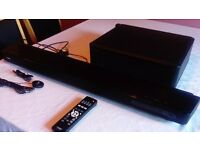 Yamaha YSP-2200 Sound Bar with Subwoofer, Microphone, Remote Control and Speaker Cable