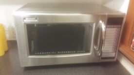 SILVER SHARP COMMERCIAL MICROWAVE OVEN R-21ATP 1000W