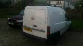 Vauxhall combo 2004 1.7dti