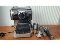Dualit DCM2X Coffee System 3 in 1 Coffee Espresso Machine, Polished Steel