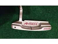 Ping Anser 4 Precision Milled putter (not Odyssey, Nike, Cameron, Taylormade, Rife, Yes)