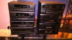 PIONEER AND KENWOOD SEPERATES HI FI JOB LOT
