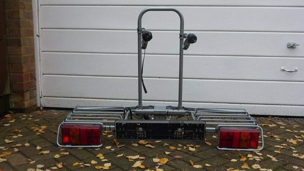 Bike Carrier for 2 Bikes on Towbar