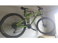 Norco Fluid 7.1 full suspension trial/downhill bike