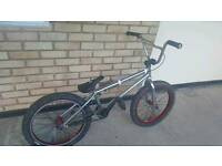 Amity bmx chrome and red