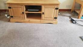 Pine TV unit for up to 50inches.