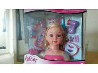 Styling head doll Brand new in a box