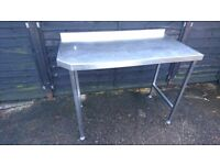 Medium Stainless Steel Table - Local Delivery Also Available