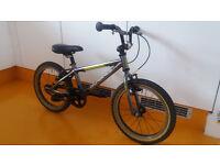 Islabike Cnoc 16 children's bike, kids BMX, mountain bicycle, 4+ years, 16 inch wheel, new parts