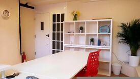 Desk/Co-Working Space in Creative Shared Office to Rent (Part/Full-Time)