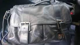 Ted Baker full leather man bag