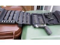 McKeller MCKM37 cordless drill driver & bit set in carry case