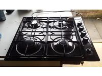 Used diplomat 4 burner gas hob good condition great bargain
