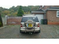 Mercedes Ml 270 BACK TYRE special edition in good condition Beige 7 seater